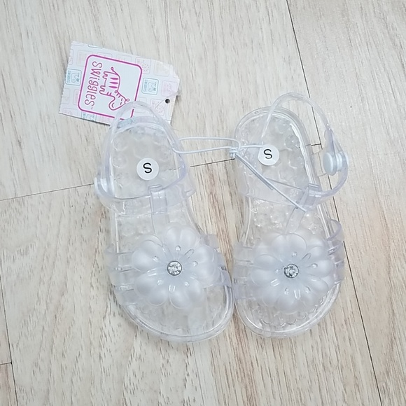 Baby Girl Toddler 5 6 Clear Jelly